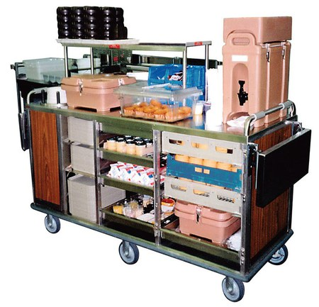 Large Breakfast Cart