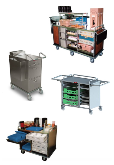 Breakfast-Hostess Carts