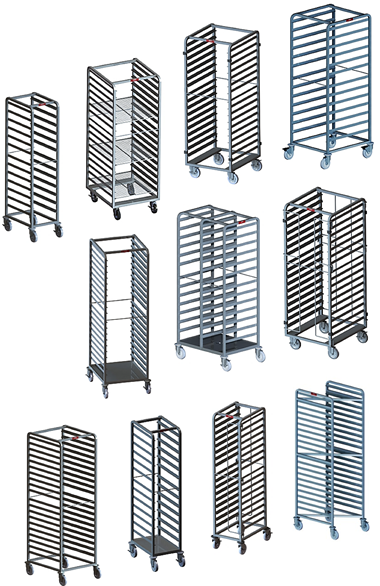 bulk Cook Chill Pan Racks