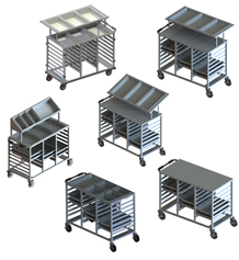 Bulk Food Portioning Trolleys and Starter Stations-tmb