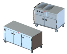 Combination Hot/Cold Food Servers
