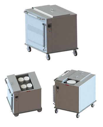 Heated Mobile Base or Plate Dispenser