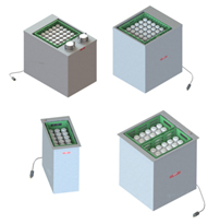 Heated Tray and Rack Dispensers