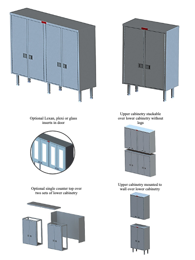 Lower Supply Cabinet