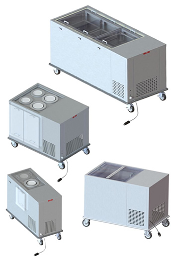 Refridgerated Mobile Dispensers and Units