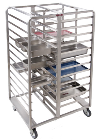 Three sided angle rack; custom